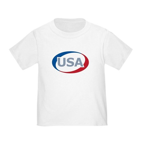 USA Oval: Toddler T-Shirt