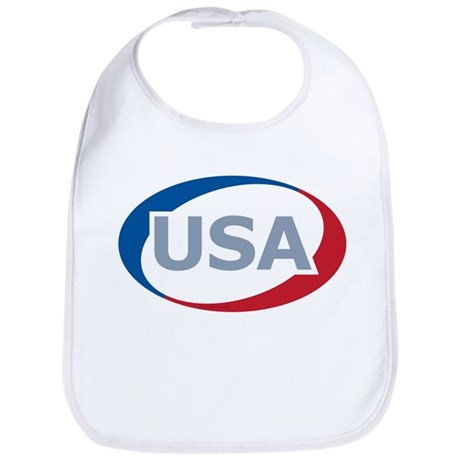 USA Oval: Bib