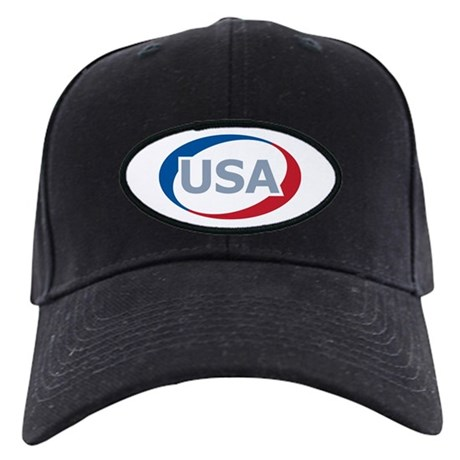 USA Oval: Black Cap