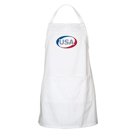 USA Oval: BBQ Apron