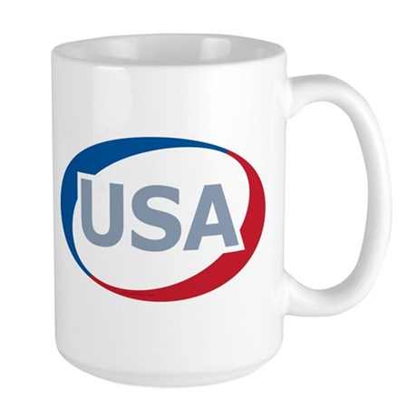 USA Oval: Large Mug