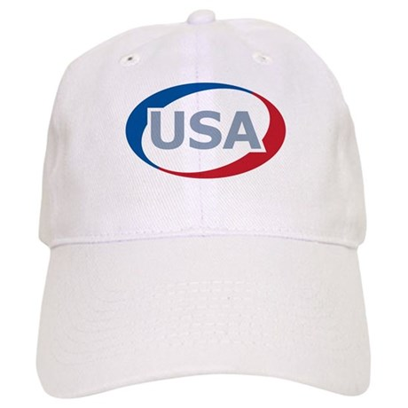 USA Oval: Cap