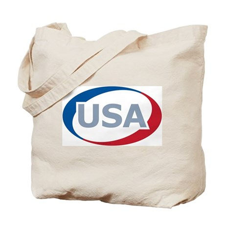 USA Oval: Tote Bag