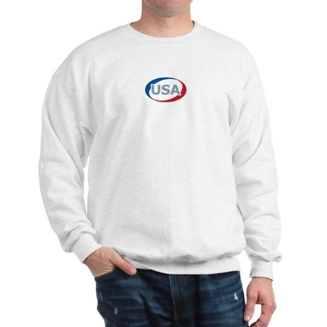 USA Oval: Sweatshirt