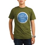 Id Circle That Organic Men's T-Shirt (dark)