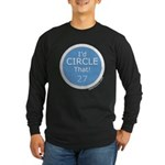 Id Circle That Long Sleeve Dark T-Shirt