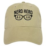 Nerd Herd Glasses  Baseball Cap