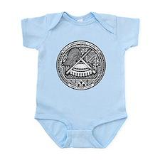 American Samoa Coat Of Arms Infant Bodysuit