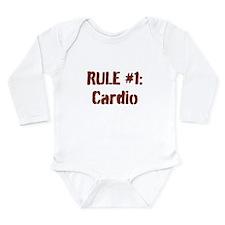Rule #1 Long Sleeve Infant Bodysuit
