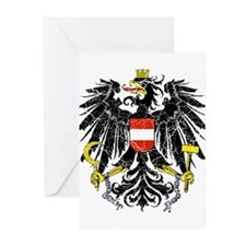 Austria Coat Of Arms Greeting Cards (Pk of 10)