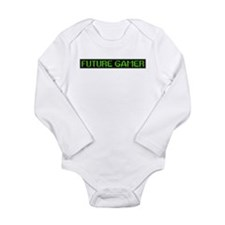 Future Gamer Long Sleeve Infant Bodysuit