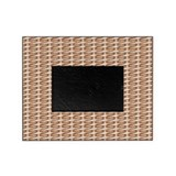 Brown Wicker Look Picture Frame