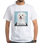 Cute Maltese White T-Shirt