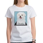 Cute Maltese Women's T-Shirt
