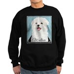Cute Maltese Sweatshirt (dark)