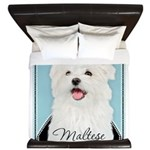 Cute Maltese King Duvet