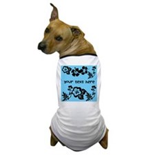 Floral Customizable Dog T-Shirt