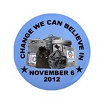 "Change 2012 3.5"" Button (100 pack)"