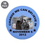 "Change 2012 3.5"" Button (10 pack)"