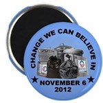"Change 2012 2.25"" Magnet (100 pack)"