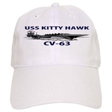 USS KITTY HAWK Baseball Cap