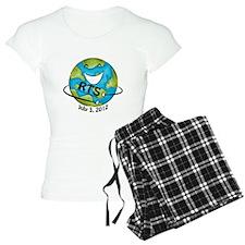 RTS Logo with Awareness Date Pajamas