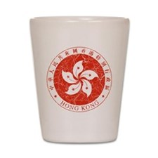 Hong Kong Coat Of Arms Shot Glass