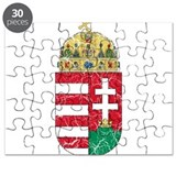 Hungary Coat Of Arms Puzzle