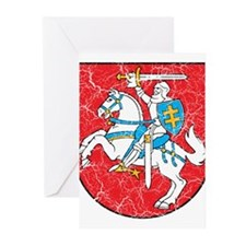 Lithuania Coat Of Arms Greeting Cards (Pk of 10)
