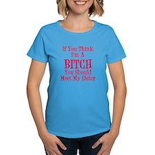 Meet My Sister Women's Dark T-Shirt