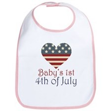 Baby's 4th of July Bib