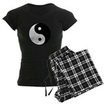 Women's Dark Pajamas Tai Chi and Yin Yang symbol