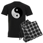 Men's Dark Pajamas Tai Chi and Yin Yang symbol