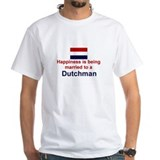 Happily Married To A Dutchman Shirt