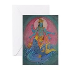 Vishnu as Matsya Cards (6)