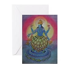 Vishnu as Kurma Cards (6)