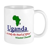 Pearl of Africa Coffee Mug