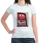 Nerd Jr. Ringer T-Shirt