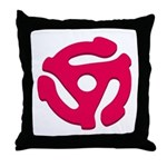 DJ Super Hero Throw Pillow