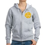 DJ Super Hero Women's Zip Hoodie