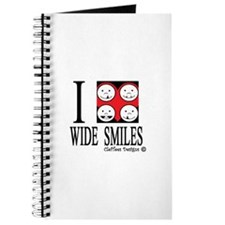I heart wide smiles Journal