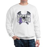 Screw Hodgkins Cancer  Sweatshirt