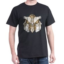 Native American Swan Mandala T-Shirt