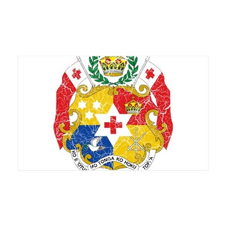 Tonga Coat Of Arms 35x21 Wall Decal