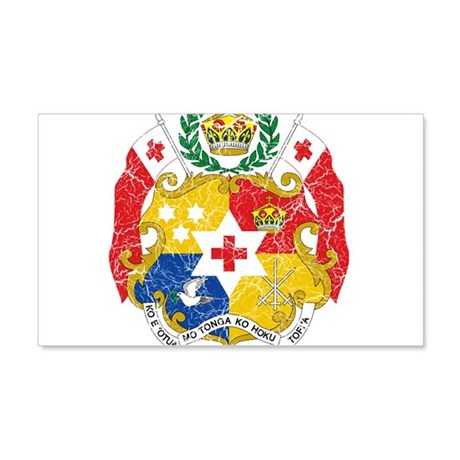 Tonga Coat Of Arms 20x12 Wall Decal