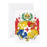 Tonga Coat Of Arms Greeting Cards (Pk of 10)