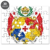 Tonga Coat Of Arms Puzzle