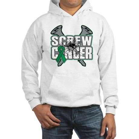 Screw Liver Cancer Hooded Sweatshirt