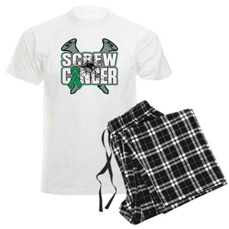 Screw Liver Cancer Men's Light Pajamas