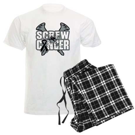 Screw Melanoma Cancer Men's Light Pajamas